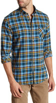 Timberland Long Sleeve Flannel Contemporary Plaid Shirt