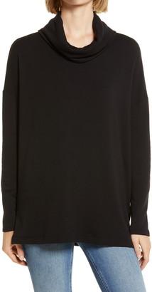 Lou & Grey Signature Soft Cowl Neck Pullover
