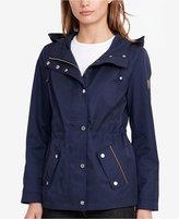 Lauren Ralph Lauren Hooded Drawstring Anorak Jacket