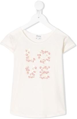 Bonpoint Love cherry print T-shirt