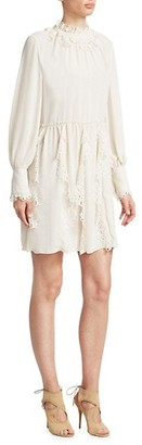 Chloé Floral Lace Dress
