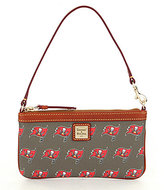 Dooney & Bourke NFL Collection Tampa Bay Buccaneers Large Slim Wristlet
