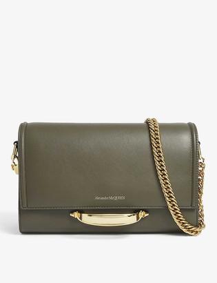Alexander McQueen Story leather shoulder bag