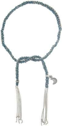 Carolina Bucci Wisdom Charm Lucky Bracelet - White Gold
