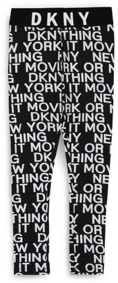 DKNY Logo Leggings (6-16 Years)