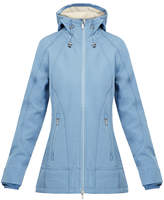 Ilse Jacobsen Rain62 Moonstone Blue Waterproof Softshell Raincoat