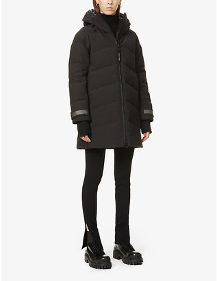 Canada Goose Merritt hooded woven-down jacket