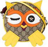 Gucci Kids monogram owl shoulder bag