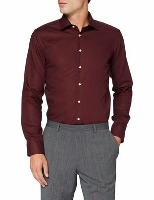 Seidensticker Men's X-Slim Langarm Uni bugelfrei 1 Dress Shirt