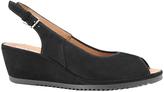 ara Capri 37120 Black Sandal