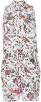 Tory Burch floral print playsuit - women - Silk - S
