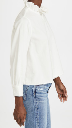 The Great Venetian Button Up Blouse