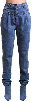 Philosophy di Lorenzo Serafini Cropped Cotton Denim Jeans