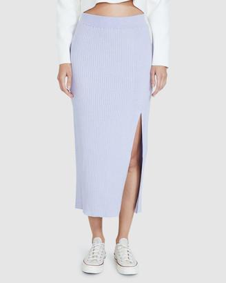 Subtitled Mara Midi Skirt