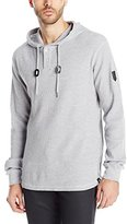 Southpole Men's Thermal Basic with Hooded Henley Neck and Zipper Details