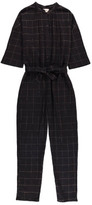 Polder Sale - Philip Lurex Checked Jumpsuit