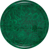 Fornasetti Green Malachite Round Tray