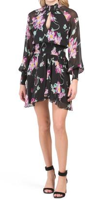Hollis Silk Chiffon Dress