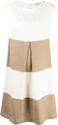 Antonelli Stripe-Panel Midi-Dress