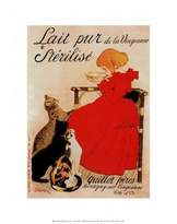 McGaw Graphics Lait Sterilise Art Print by Théophile Alexandre Steinlen 11 x 14in