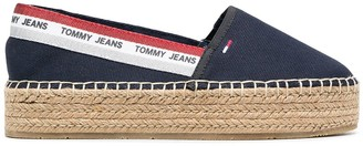 Tommy Jeans Round-Toe Platform Espadrilles