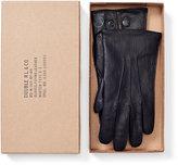 Ralph Lauren Leather Officer's Gloves
