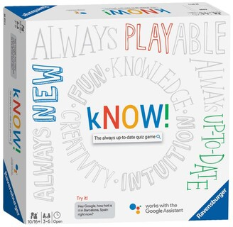 Ravensburger kNOW! The Always Up-to-Date Quiz Game