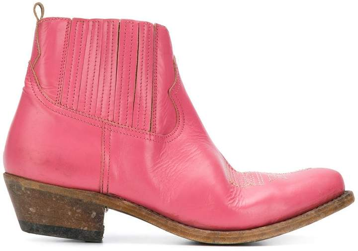 Golden Goose Young cowboy Chelsea boots