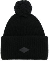 Rag & Bone logo patch bobble hat