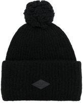 Rag & Bone logo patch bobble hat