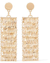Eddie Borgo Fleece Gold-plated Cubic Zirconia Earrings - one size