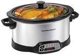 Hamilton Beach Hamlton Beach Countdown Programmable 6 Qt. Slow Cooker - Stainless - 33660