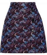 MSGM Brocade Mini Skirt