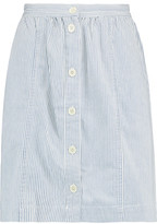 MiH Jeans Purbeck Striped Cotton Skirt