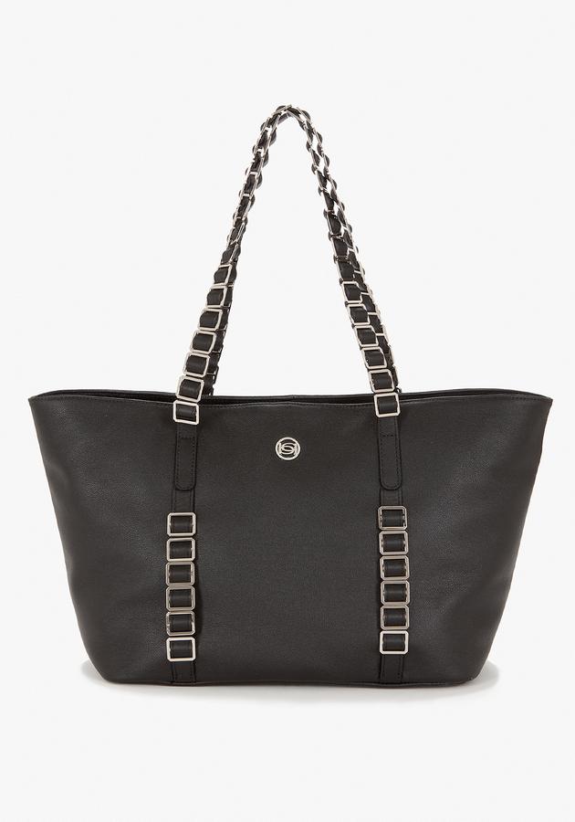 Bebe Westwood Leather Tote