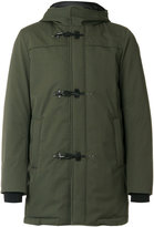 Fay padded duffle coat - men - Feather Down/Polyamide/Polyester/Wool - M