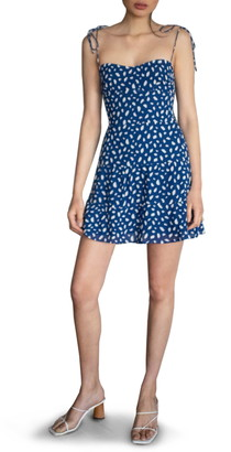 Reformation Othello Print Fit & Flare Sundress