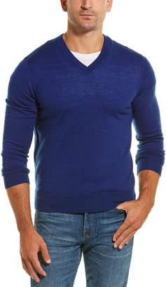 Qi V-Neck Wool Sweater