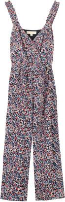 Michael Kors Floral Motif Print Jumpsuit