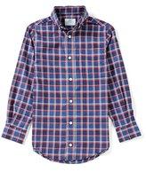 Class Club Little Boys 2T-7 Plaid Long-Sleeve Shirt