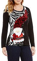 "Berek Wobbly Mr Kringle"" Christmas Sweater"