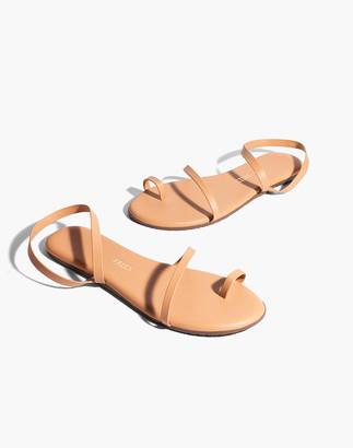 Madewell TKEES Mia Napa Leather Sandals