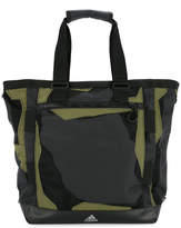 adidas mesh and contrast panel tote