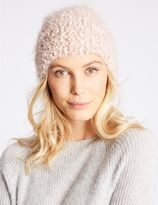 Marks and Spencer Fluffy Beanie Hat