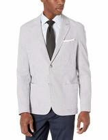 Lacoste Men's Cotton Striped Seersucker Blazer Slim FIT
