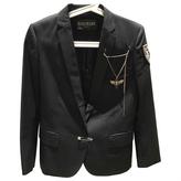 Balmain Anthracite Cotton Jacket