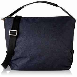 Borbonese Women's 934460X96 Cross-Body Bag Black Black (NERO/NERO W00)