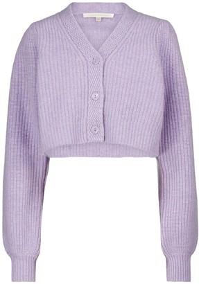 LoveShackFancy Avignon wool-blend cardigan