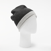 John Lewis Tipped Cashmere Roll Beanie Hat