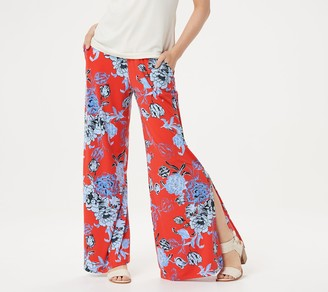 G.I.L.I. Got It Love It G.I.L.I. Jetsetter Regular Side Slit Pants